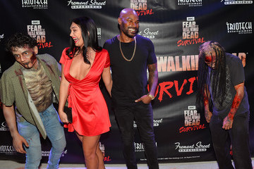 Tyson Beckford 'Fear the Walking Dead' Survival at the Fremont Street Experience