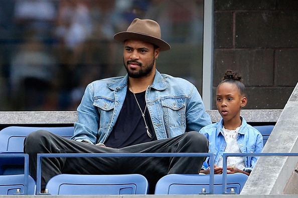 Photo of Tyson Chandler & his  Daughter  Sacha-Marie Chandler
