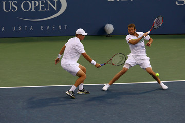Mardy Fish Mark Knowles U.S. Open-Day 8