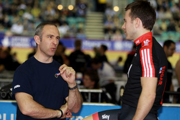 Jamie Staff UCI Track Cycling World Cup Classic in Manchester - Day Three