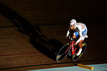 Ho Sung Cho UCI Track Cycling World Cup Classic in Manchester - Day Two