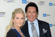 Singer Wayne Newton (R) and Kathleen McCrone attend the UCLA Head and Neck Surgery Luminary Awards at the Beverly Wilshire Four Seasons Hotel on January 22, 2014 in Beverly Hills, California.