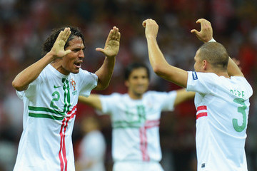 Pepe Bruno Alves UEFA EURO 2012 - Matchday 13 - Pictures Of The Day