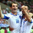 Giorgos Tzavelas UEFA EURO 2012 - Matchday 9 - Pictures Of The Day