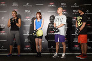Miesha Tate and Tomoharu Shoji Photos Photo
