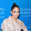 Jennifer Lopez Goes Glam for a Good Cause