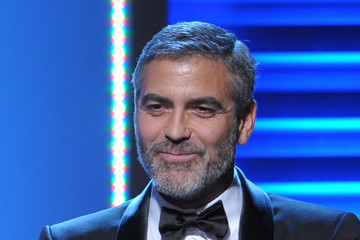George Clooney UNICEF Ball Honoring Jerry Weintraub - Inside