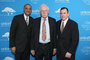 Ed Lloyd, Ted Turner, and Barron Segar attend UNICEF's Evening for Children First to Honor Ted Turner on March 30, 2016 in Atlanta, Georgia.
