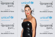 Meg Matthews attends The UNICEF Halloween Ball at One Mayfair on October 31, 2013 in London, England.