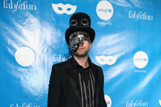 Pierson Fode at the UNICEF Next Generation Masquerade Ball at Clifton's Republic on October 27, 2017 in Los Angeles, California.
