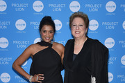 Purvi Padia and UNICEF USA CEO & President Caryl Stern attend the Launch of UNICEF's Project Lion at The Highline Hotel on May 30, 2018 in New York City.