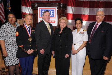 Terrance Holliday USO Honors Military Women And Women Business Leaders At 45th Annual Woman Of The Year Luncheon
