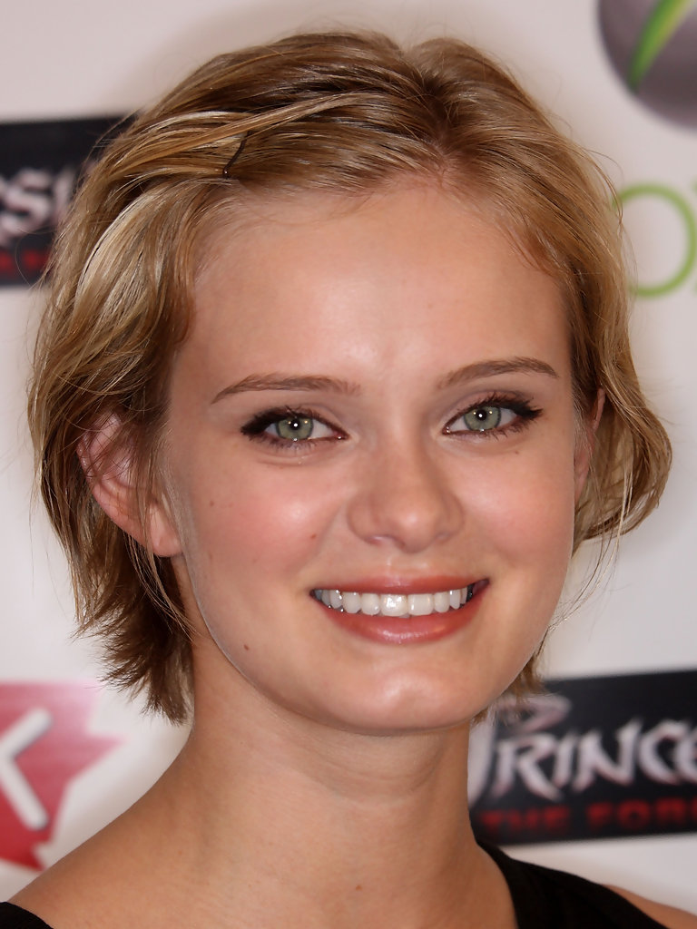 sara paxton in ubisoft celebrates the video game launch of