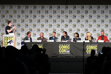 "Udo Kier Comic-Con: David Tennant, Katheryn Winnick, Elodie Yung and Udo Kier at ""Call of Duty: WWII Zombies"" Panel"