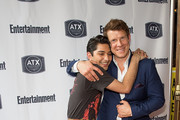 Mark Indelicato and Eric Mabius attend the Ugly Betty Reunion presented with Entertainment Weekly at the ATX Television Festival in Austin, TX on Saturday, June 11, 2016.