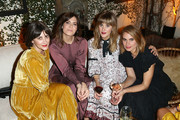 (L-R) Jenn Streicher, Mandy Moore, Ashley Streicher and Kristie Streicher attend the Ulla Johnson SS17 Celebration at A.O.C on October 20, 2016 in Los Angeles, California.