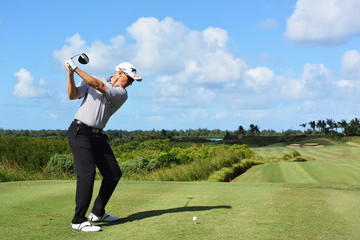 Ulrich Van Den Berg AfrAsia Bank Mauritius Open - Day Three