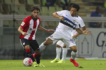 Unai Lopez FC Internazionale v Athletic Club Bilbao - Preseason Friendly
