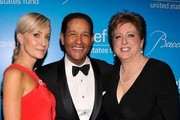 Hilary Quinlan, Bryant Gumbel and Caryl Stern attend the Unicef SnowFlake Ball at Cipriani 42nd Street on November 27, 2012 in New York City.
