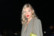 Elsa Hosk attends the cocktail at the Unicef Summer Gala Presented by Luisaviaroma at  on August 09, 2019 in Porto Cervo, Italy.