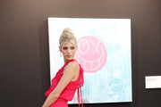 Devon Windsor attends the cocktail at the Unicef Summer Gala Presented by Luisaviaroma at  on August 09, 2019 in Porto Cervo, Italy.