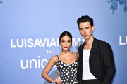 Vanessa Hudgens and Austin Butler attends the photocall at the Unicef Summer Gala Presented by Luisaviaroma at  on August 09, 2019 in Porto Cervo, Italy.