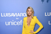 Charlotte McKinney  attends the photocall at the Unicef Summer Gala Presented by Luisaviaroma at  on August 09, 2019 in Porto Cervo, Italy.
