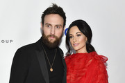 Kacey Musgraves (R) and Ruston Kelly attend the Universal Music Group's 2019 After Party To Celebrate The GRAMMYs at ROW DTLA on February 10, 2019 in Los Angeles, California.