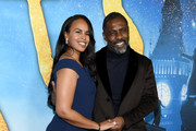 Sabrina Dhowre Elba and Idris Elba attend The World Premiere of Cats, presented by Universal Pictures on December 16, 2019 in New York City.