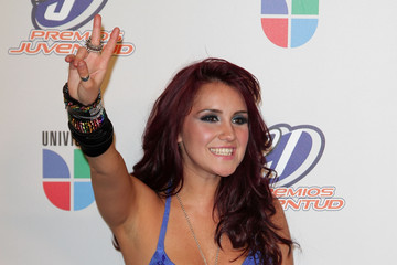 Dulce Maria Univision Premios Juventud Awards - Press Room