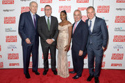 (L-R) Paul Tagliabue, Scott Smith, Tiffany Corselli, David Brooks and Paul Caccamo attend the Up2Us Sports 2019 Gala to celebrate The Healing Power of Sports on May 29, 2019 in New York City.