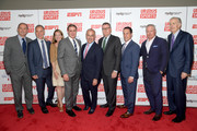 (L-R) Dan Mannix, Paul Caccamo, Abby McKenna, Dr. David Colbert, David Brooks, Scott Smith, Matt Grandis, Nick Wood, and Paul Tagliabue attend the Up2Us Sports 2019 Gala to celebrate The Healing Power of Sports on May 29, 2019 in New York City.