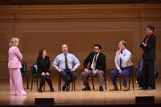 (L-R) Amy Poehler, Rachel Dratch, Matt Walsh, Horatio Sanz, Ian Roberts and Matt Besser perform onstage during ASSSSCAT with the Upright Citizens Brigade Live at Carnegie Hall celebrating the 20th Anniversary of Del Close Marathon on June 28, 2018 in New York City.