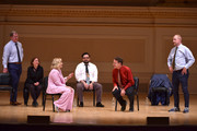 (L-R) Ian Roberts, Rachel Dratch, Amy Poehler, Horatio Sanz, Matt Besser and Matt Walsh perform onstage during ASSSSCAT with the Upright Citizens Brigade Live at Carnegie Hall celebrating the 20th Anniversary of Del Close Marathon on June 28, 2018 in New York City.