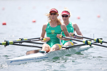 Ursula Grobler 2015 World Rowing Cup III In Lucerne - Day Two