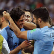 Luis Suarez and Edinson Cavani Photos