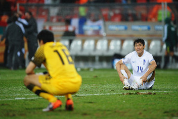 Lee Jung-Soo Uruguay v South Korea: 2010 FIFA World Cup - Round of Sixteen