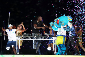 Usain Bolt Gold Coast 2018 Commonwealth Games - Closing Ceremony