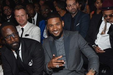Usher The 57th Annual GRAMMY Awards - Backstage