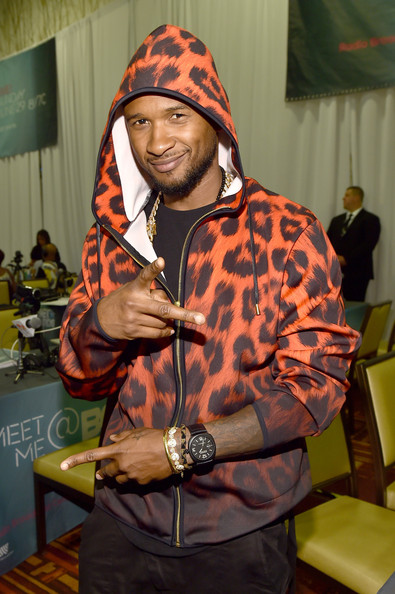 Usher Singer Usher attends day 2 of the Radio Broadcast Center during the BET Awards '14 on June 28, 2014 in Los Angeles, California.