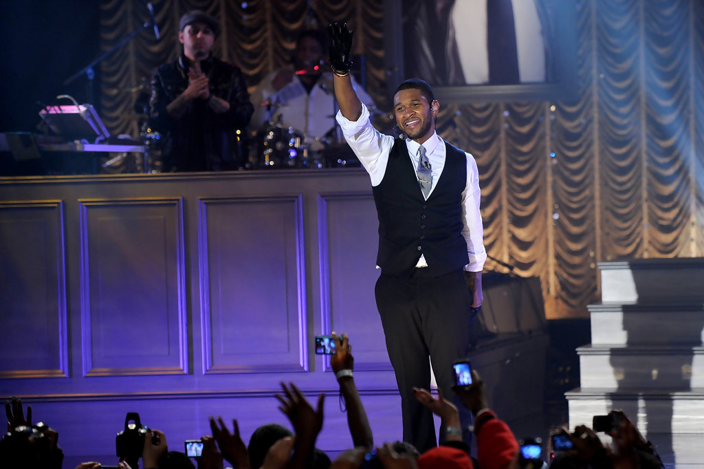 Good Morning America How Are You Chords : Usher performs on abc s quot good morning america zimbio