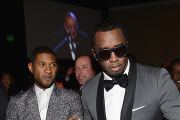 Usher Sean Combs The 55th Annual GRAMMY Awards - Pre-GRAMMY Gala And Salute To Industry Icons Honoring L.A. Reid - Backstage and Audience