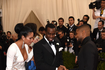 Usher Sean Combs 'China: Through The Looking Glass' Costume Institute Benefit Gala - Arrivals