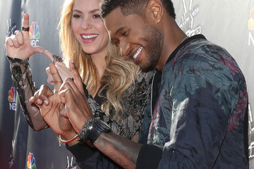 "Usher NBC's ""The Voice"" Red Carpet Event"