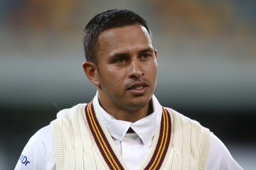 Usman Khawaja Sheffield Shield - QLD v NSW: Day 1