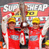 Garth Tander Nick Percat Photos - Garth Tander and Nick Percat drivers of the #2 Toll Holden Racing Team Holden poses with the Peter Brook Trophy after winning the Bathurst 1000, which is round 10 of the V8 Supercars Championship Series at Mount Panorama on October 9, 2011 in Bathurst, Australia. - V8 Supercars - Bathurst 1000