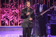 """NFL player Colin Kaepernick speaks onstage during VH1's 3rd Annual """"Dear Mama: A Love Letter To Moms"""" - Inside Show  at The Theatre at Ace Hotel on May 3, 2018 in Los Angeles, California."""