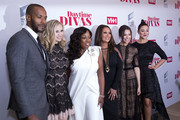 (L-R) McKinley Freeman, Fiona Gubelmann, Star Jones, Vanessa Williams, Chloe Bridges and Camille Guaty attend VH1 Daytime Divas Premiere Event at the Whitby Hotel on June 1, 2017 in New York City.
