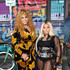 Faith Evans and Lil' Kim attend VH1 Hip Hop Honors: The 90s Game Changers at Paramount Studios on September 17, 2017 in Los Angeles, California.