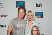 Co-Hosts William Macklowe (L) and Julie Macklowe attend VH1 Save The Music - Hamptons Live 2016 on August 27, 2016 in Sagaponack, New York.